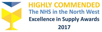 Highly Commended The NHS in the North West Excellence in Supply Awards 2017